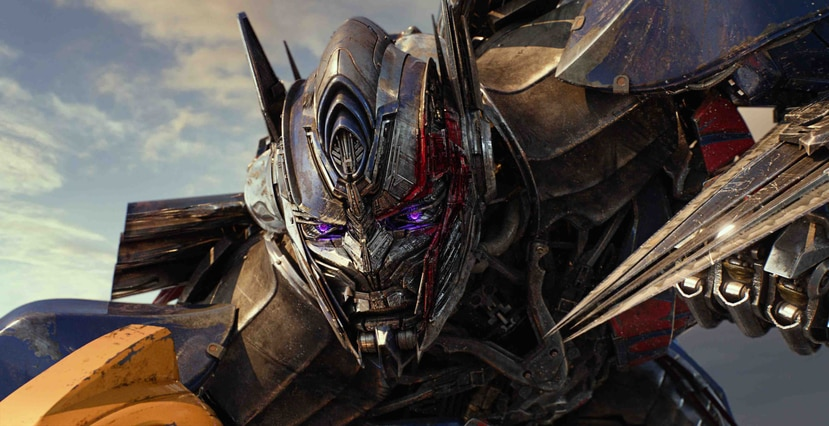 "Optimus Prime en ""Transformers: The Last Knight"", de Paramount Pictures. (Suministrada)"