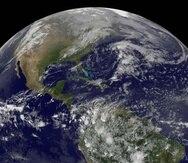Los impactos devastadores continuaron dando forma al planeta durante cientos de millones de años (NASA).