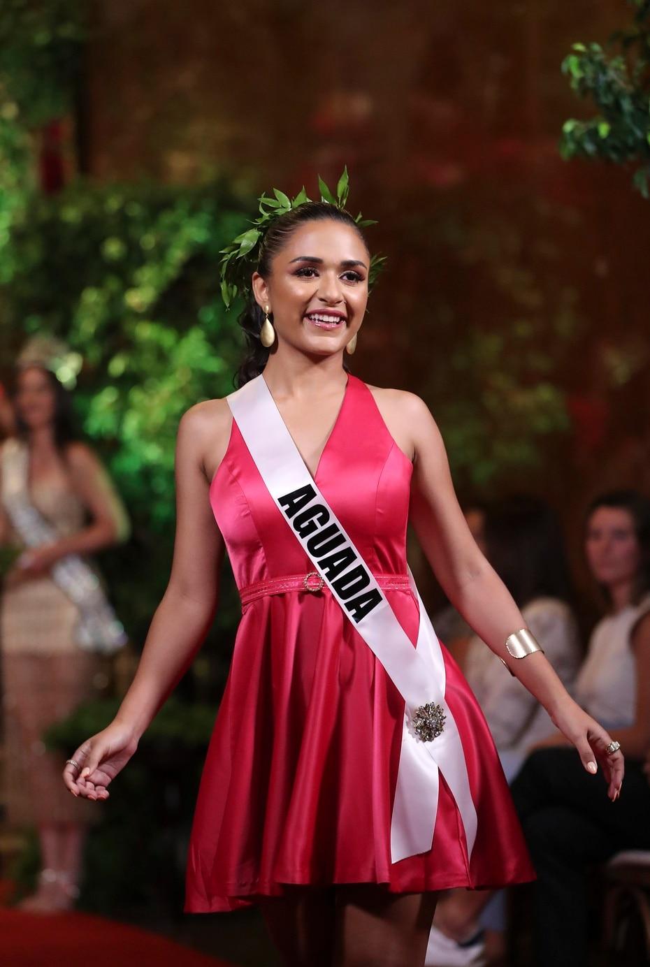 Andrea Carolina Delgado, Miss Aguada.