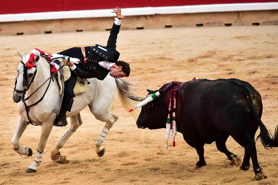 Las fiestas de San Fermín se extenderán hasta el domingo, 14 de julio. (AP/Alvaro Barrientos)