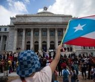 21 de octubre del 2021San Juan, Puerto RicoEl CapitolioProtestas frente al Capitolio frente con motivo de la posible aprobación del Plan de Ajuste de Deuda.teresa.canino@gfrmedia.comTeresa Canino Rivera