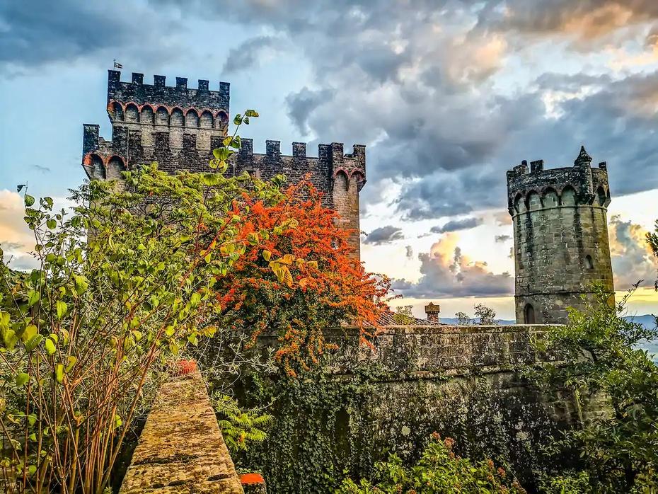El Castillo de Ferrano, en Italia, fue convertido en un Airbnb.