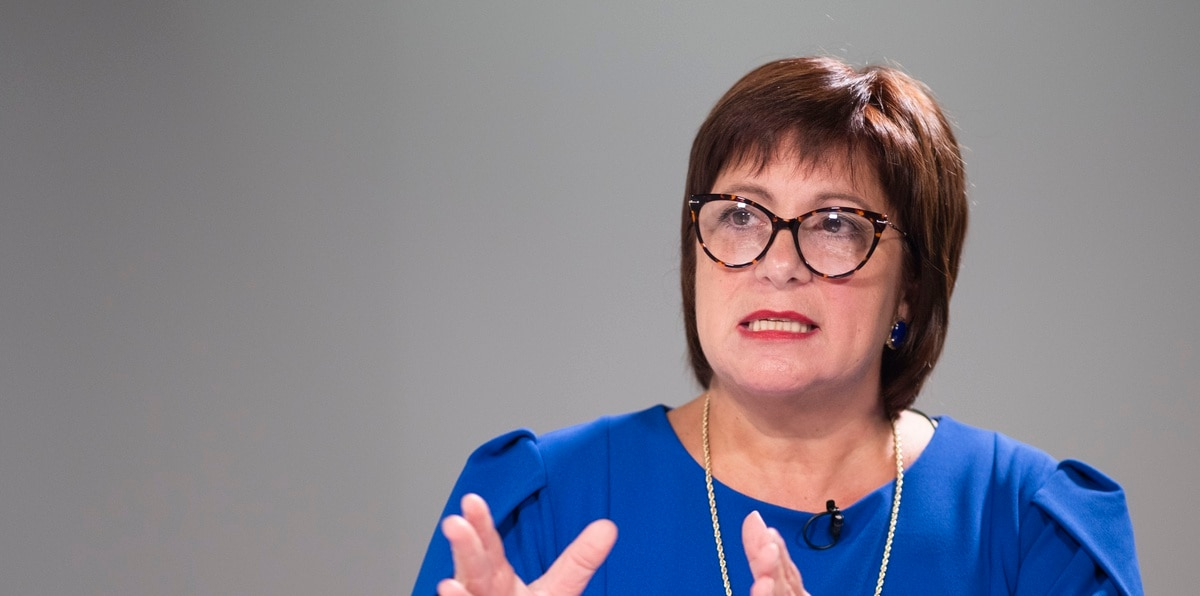 Natalie Jaresko, Puerto Rico Fiscal Oversight Board Executive Director.