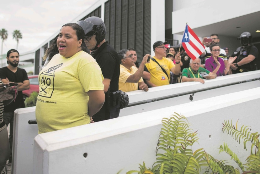 La portavoz de Educación, Yolanda Rosaly, confirmó los arrestos.