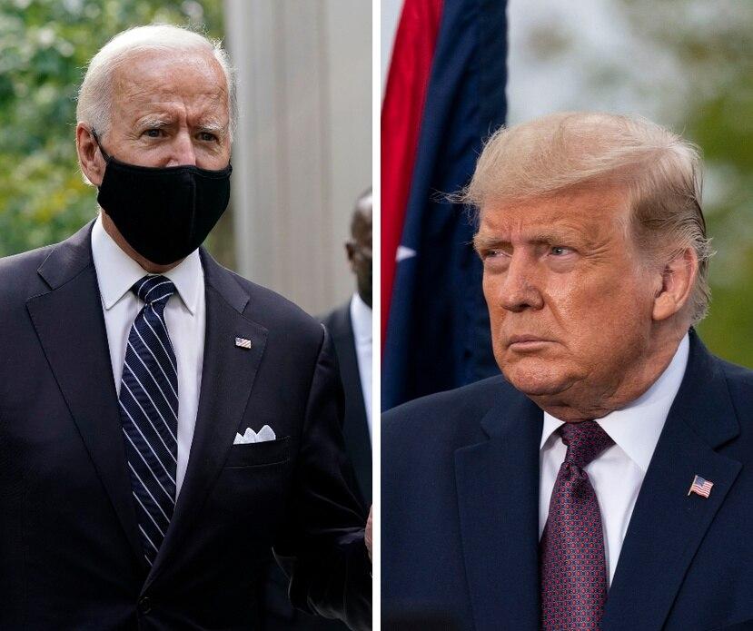 Joe Biden y Donald Trump visitaron Pensilvania durante la conmemoración del 11 de septiembre pero no se cruzaron.