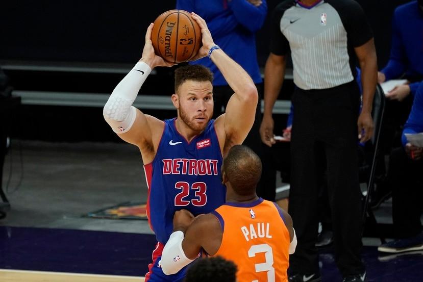 Blake Griffin no es el mismo jugador de antes, pero todavía un jugador capaz de ayudar a un equipo.