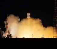 """Los tripulantes permanecieron 12 días en la Estación Espacial Internacional, donde rodaron gran parte del filme de ficción """"El reto""""."""