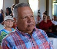 """El alcalde de Comerío, José Antonio """"Josian"""" Santiago, fue uno de los que acudió ante la congresista Nydia Velázquez."""
