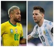 La final de la Copa América también ofrecerá un cara a cara entre las superestrellas Lionel Messi y Neymar, amigos fuera de la cancha que ansiaban encontrarse en la final.