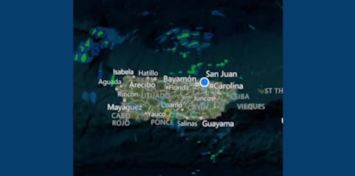Deborah Martorell anticipa una mejoría gradual del tiempo tras paso de una onda tropical