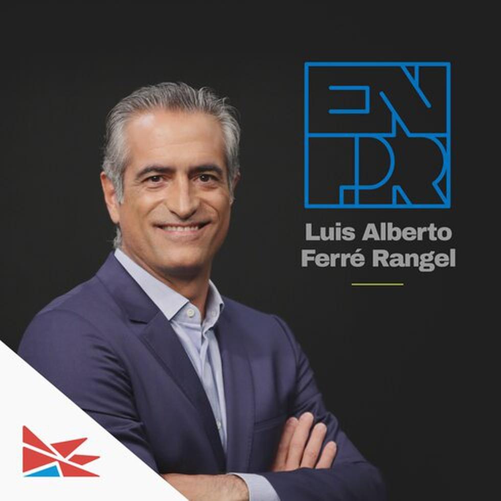 En PR con Luis Alberto Ferré Rangel