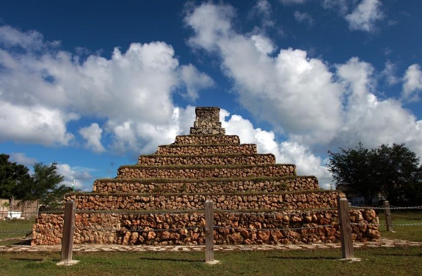 Pirámide en Aguada.