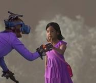 La coreana Jang Ji-sung tuvo un contacto virtual con su hija fallecida hace siete años.  (Captura / MBCdocumentary)