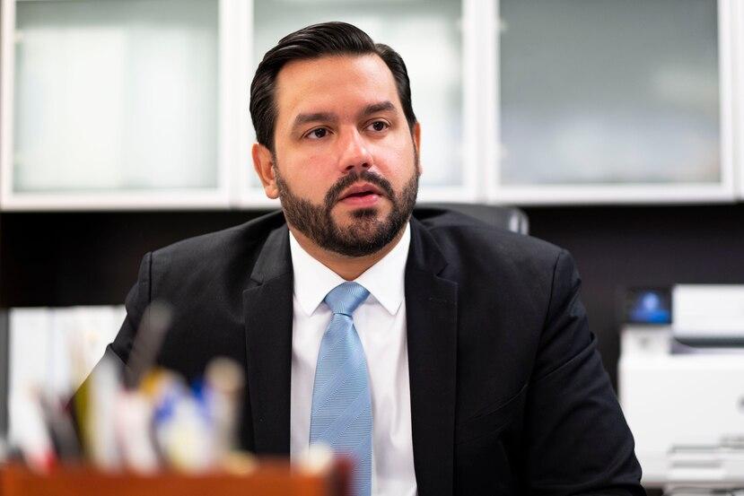 El administrador de Vivienda Públia, William Rodríguez.