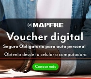 Así luce en el portal de Mapfre el botón de acceso a obtener el certificado digital de cumplimiento.
