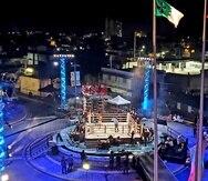 """La primera cartelera de la serie """"Ring City USA"""" se llevó a cabo el jueves en las inmediaciones del gimnasio Félix Pagán Pintor en Guaynabo."""