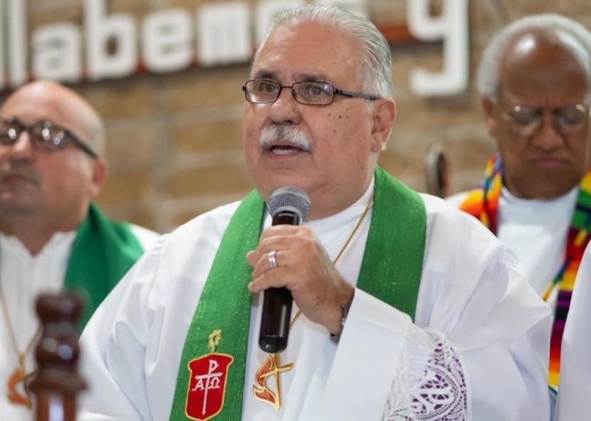 El reverendo Héctor F. Ortiz Vidal, obispo de la Iglesia Metodista de Puerto Rico. (Suministrada)