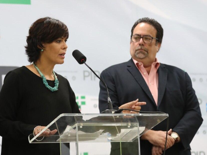 La delegación del Partido Independentista Puertorriqueño se reunió con el gobernador Pedro Pierluisi.