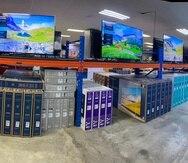 La nueva tienda de enseres y 'outlet' de generación eléctrica de Power Sports incluye oferta de televisores, neveras y otros electrodomésticos de alta demanda.
