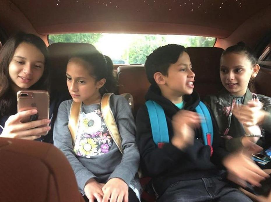 Los gemelos tienen una relación muy cercana con Natasha y Ella, las dos hijas de Alex Rodríguez, actual pareja de JLo. (Instagram / @jlo)