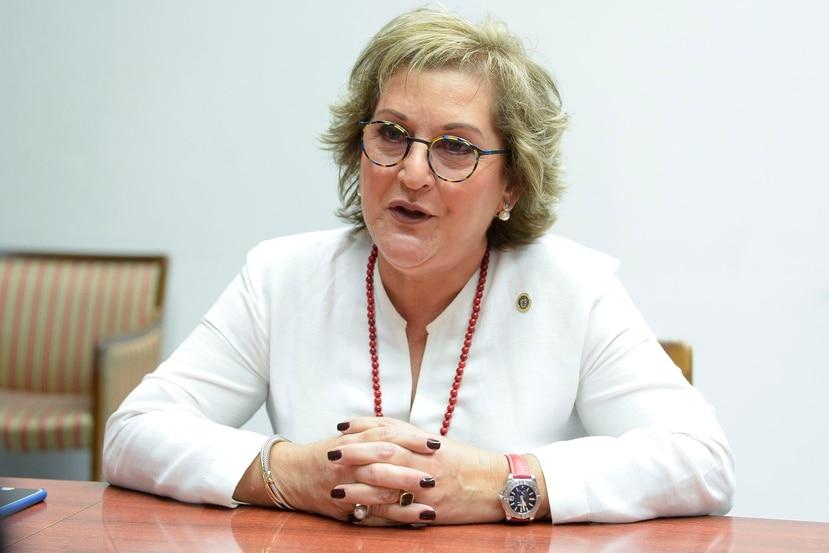Teresita Fuentes renunció hoy a su contrato con la Junta.  (GFR Media)
