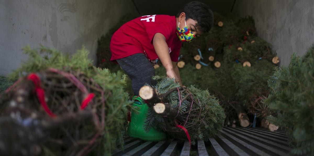 Navidad boricua: así compran adornos en la pandemia