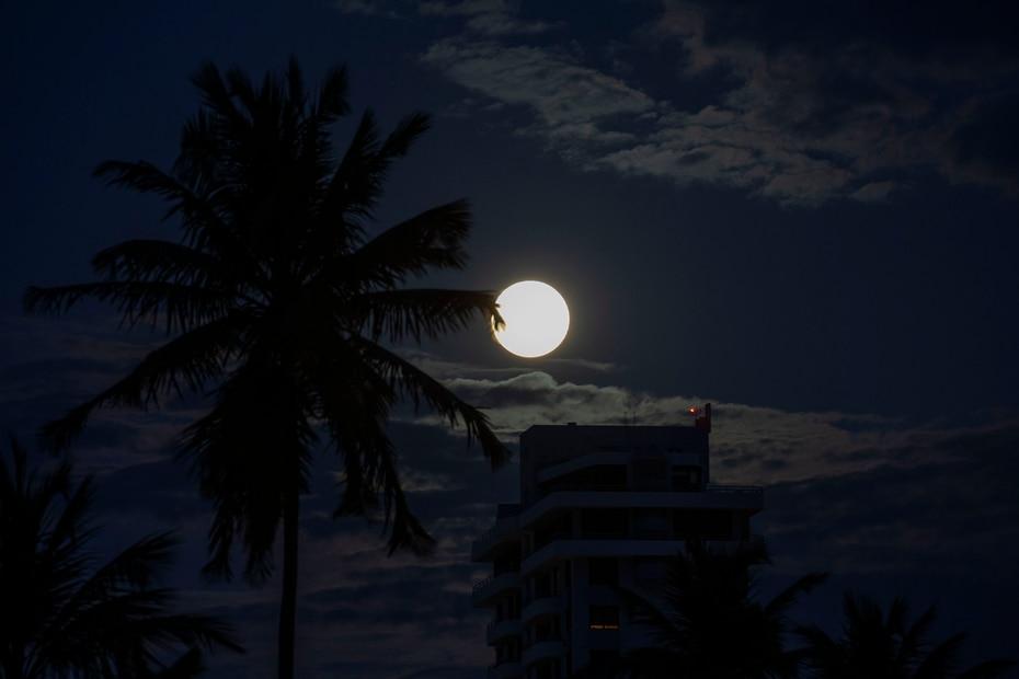 La próxima superluna es en mayo.