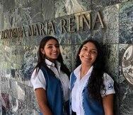 Ana Cristina Ferrer y  Gabriela Álvarez  fueron nominadas por el doctor Mario Capecchi, ganador del premio Nobel de Medicina y director de Ciencias de la Academia Nacional de Futuros Médicos y Científicos de Medicina.  (Suministrada)