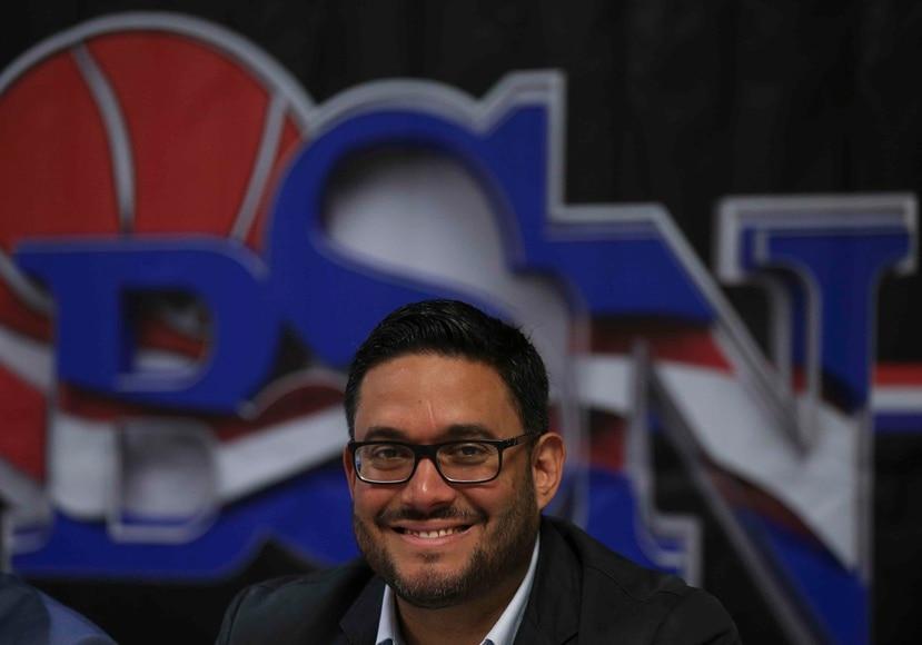Yum Ramos, presidente de la Federación de Baloncesto.
