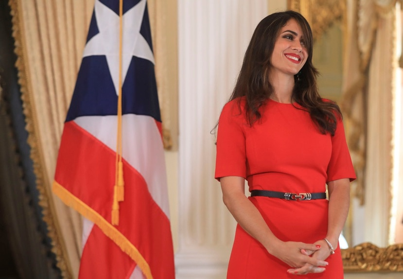 El gobernador Pedro Pierluisi confirmó, esta semana, que Elizabeth Torres Rodríguez (arriba) solicitó un indulto total para su pareja Edwin Domínguez.