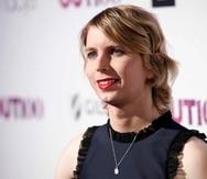 Esta fotografía de archivo del 9 de noviembre de 2017 muestra a la exanalista de inteligencia estadounidense Chelsea Manning en la 22da gala anual OUT100 Celebration, en el edificio Altman en Nueva York. (Andy Kropa/Invision/AP, archivo)