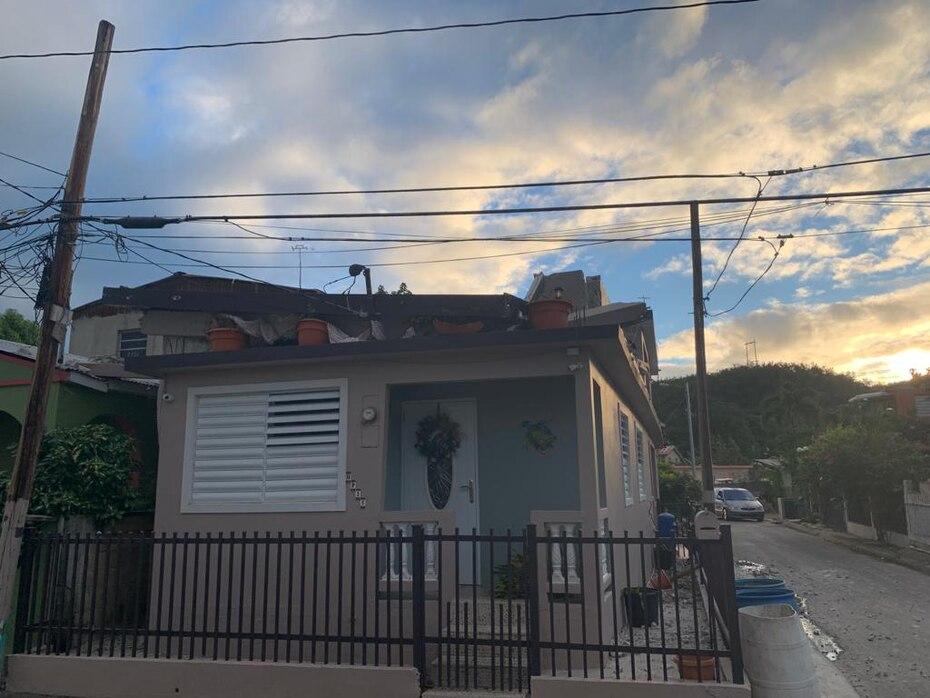 El temblor que se registró a las 6:23 a.m. el Día de Reyes fue de 5.8. Vista de una residencia afectada en Guánica. (Suministrada)