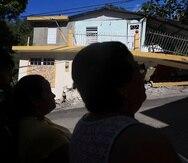 Enero 07 2019 San Juan PR. --Un temblor de magnitud 6.4 afect— la isla durante la madrugada de hoy, martes, causando estragos a lo largo y ancho de Puerto Rico. Ante lo sucedido, el sistema de energ'a elŽctrico colaps—, al igual que mœltiples estructuras y viviendas. Barrio Barina  (sector la joya) en yauco.Foto xavier.araujo@gfrmedia.comXavier Araœjo   2020