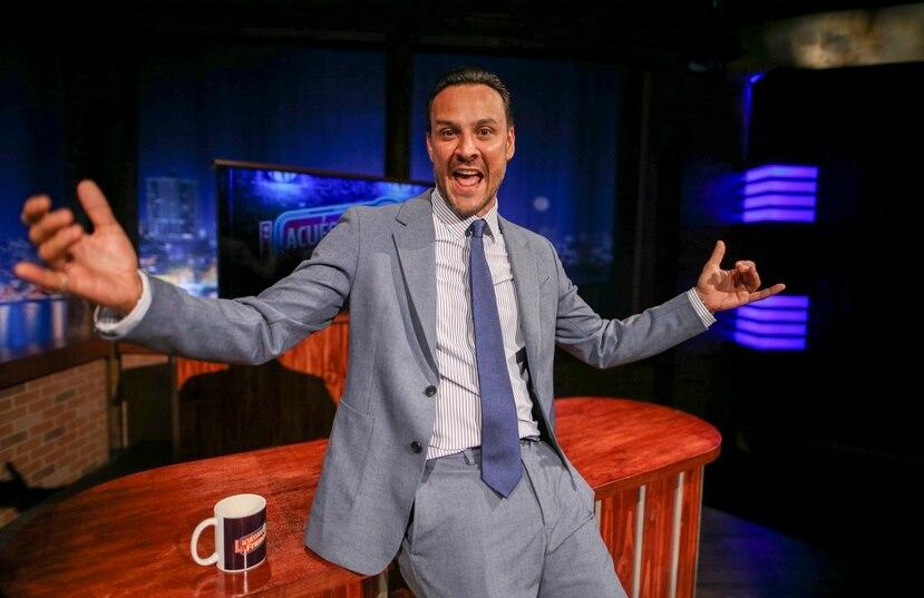 """El comediante se siente listo para el estreno de su programa nocturno """"Acuéstate con Francis"""", por TeleOnce."""