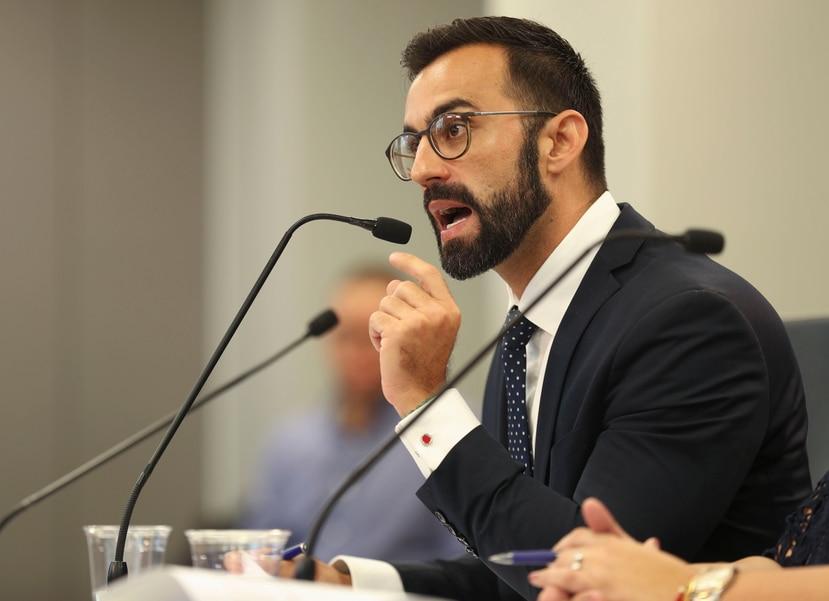 Eduardo Rivera Juanatey, secretario interino del Departamento de Corrección y Rehabilitación.