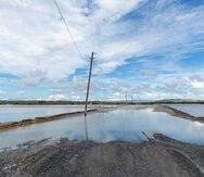 El aumento  en el nivel del mar está afectando a Las Salinas de Cabo Rojo, ya declaradas en estado emergencia.