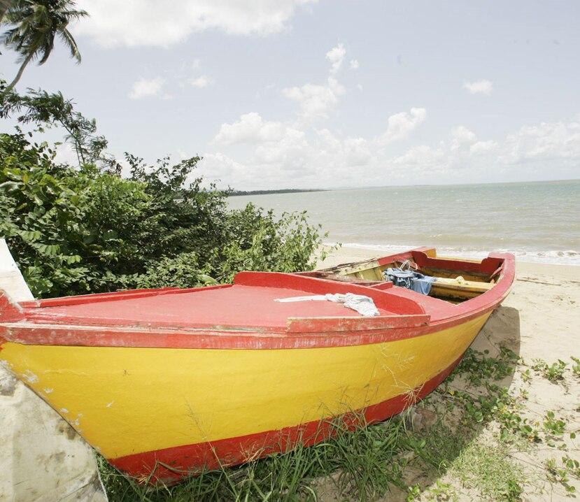 La embarcación fue encontrada a media milla náutica del río Grande de Añasco. (GFR Media)