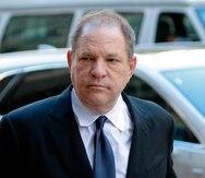Aíslan en prisión a Harvey Weinstein por síntomas de COVID-19