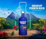 Es la primera vez que la marca de vodka sueca lanza una botella edición limitada para honrar a una isla caribeña.