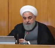 El presidente iraní Hasán Ruhani. (EFE)