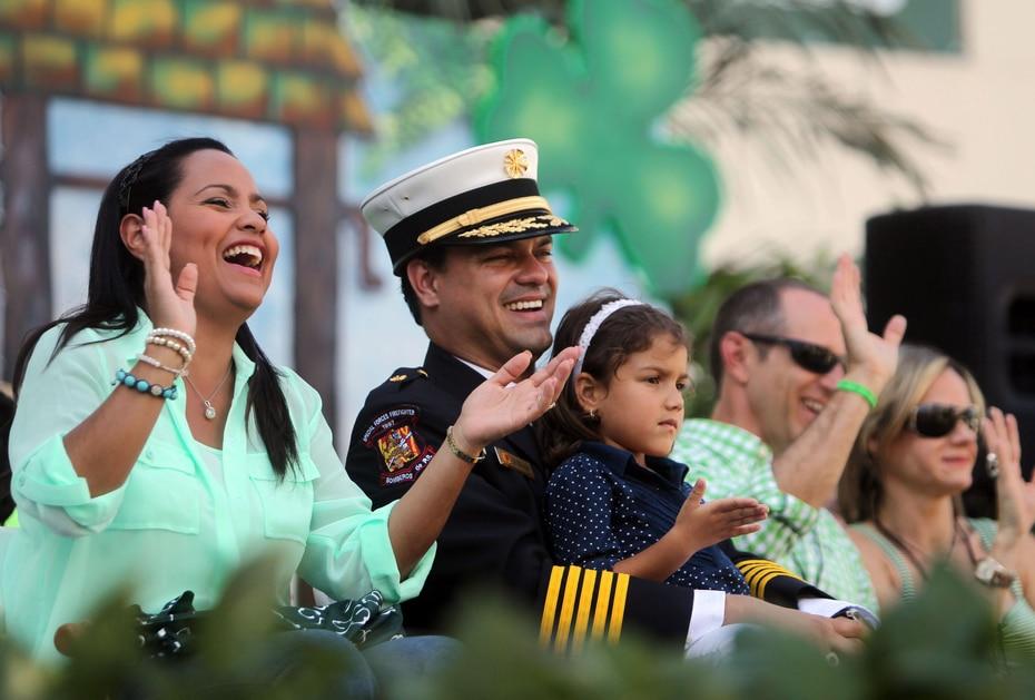Keylla siempre fue auspiciadora de causas. En la foto, como madrina del carnaval de San Patricio en 2013. (GFR Media)