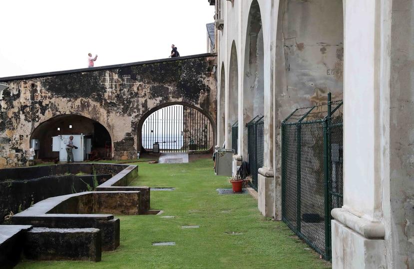 Los castillos San Cristóbal y San Felipe del Morro permanecen abiertos por un acuerdo con la Compañía de Turismo. (GFR Media)