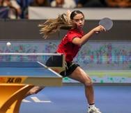 Melanie Díaz sale airosa en su primer partido en el Preolímpico de tenis de mesa en Argentina