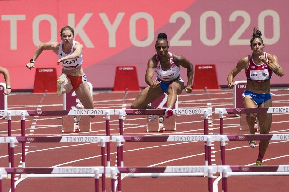 La puertorriqueña Jasmin Camacho-Quinn avanzó a las semifinales de los 100 metros con vallas en Tokio 2020.