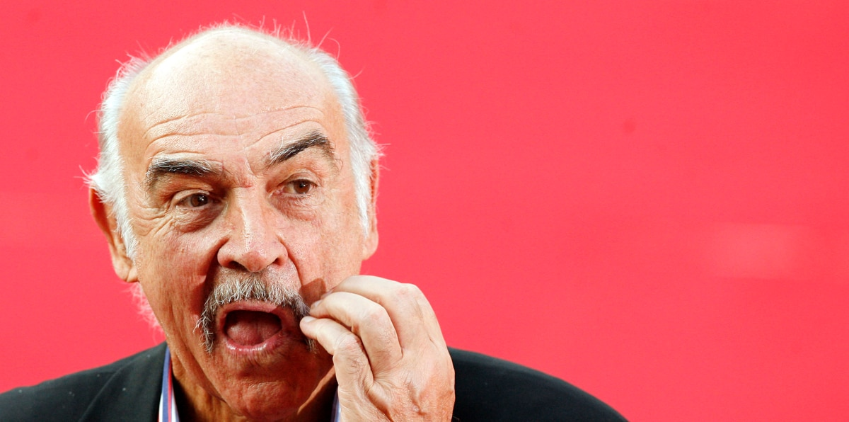 Sean Connery un inolvidable e intrépido actor