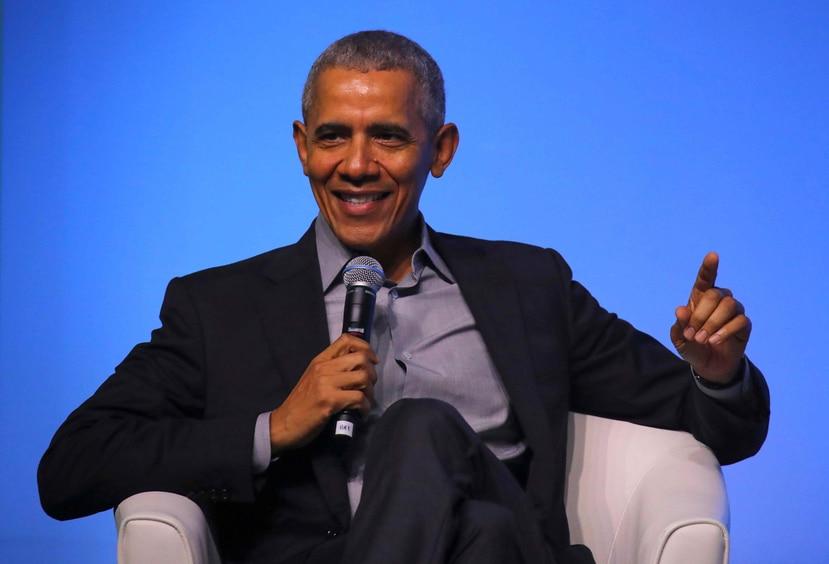 Barack Obama, expresidente de Estados Unidos. (AP)