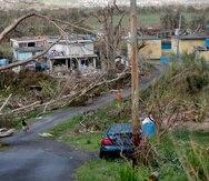 Representantes del gobierno de Puerto Rico se reunieron con las autoridades federales sobre la recuperación tras el huracán María.
