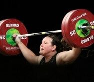 El Comité Olímpico Internacional permite los deportistas transgéneros desde el 2004. En la foto, Laurel Hubbard, atleta transgénero de Nueva Zelanda.