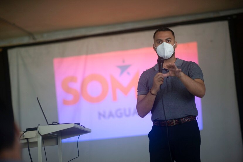 El reportero José Orlando Delgado Rivera, es oriundo de Coamo y egresado de la Universidad del Sagrado Corazón.