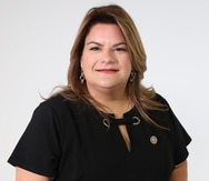 La comisionada residente, Jenniffer González.